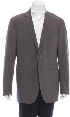 John Varvatos Pinstripe Wool-Blend Blazer