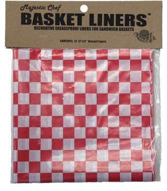 Majestic Chef Basket Liners S/12
