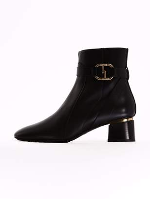 Tod's Ankle Boot Black Leather