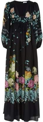 Vilshenko Annabelle Printed Dress