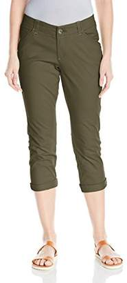 Lee Women's Midrise Fit Essential Chino Capri Pant