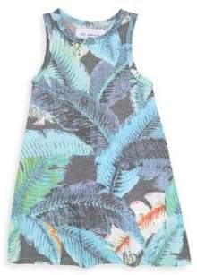 Sol Angeles Little Girl's & Girl's Lana Leaf-Print Dress