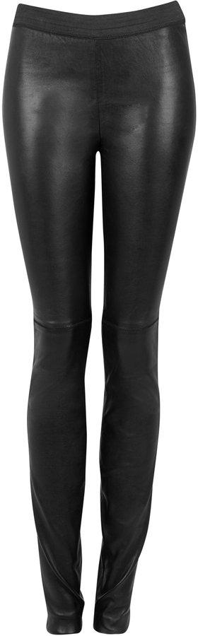 Malene Birger Alvares Stretch Leather Leggings