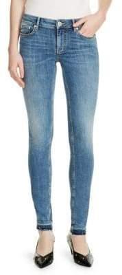 Maje Probin Release Hem Jeans