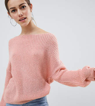 Missguided Petite Light Weight Twist Back Sweater