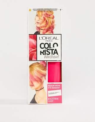 L'Oreal L Oréal Pa Colorista Wash Out Hair Colour - Hot Pink