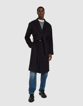 Bruta Belted Wool Overcoat