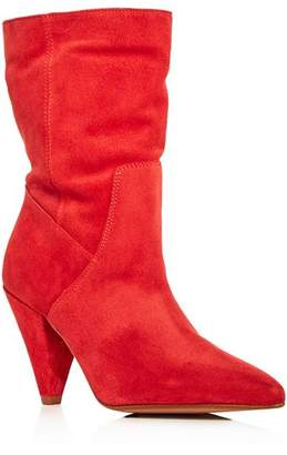Kenneth Cole Women's Labella Suede High-Heel Booties