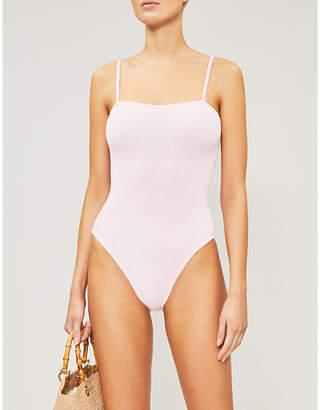 Hunza G Maria square-neckline swimsuit