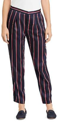 Ralph Lauren Pleated Stripe Pants