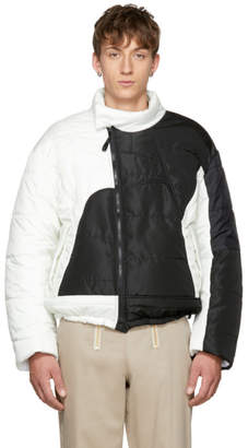 GmbH Black and White Hans Recycled Puffer Jacket