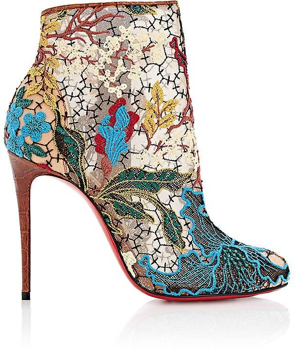 Christian Louboutin Women's Miss Tennis Ankle Boots