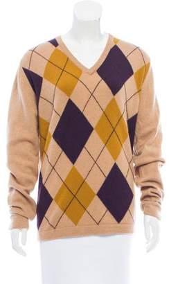 Pringle Geometric Pattern Knit Sweater