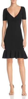 Milly Shirred Knit Dress