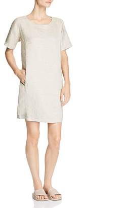 Eileen Fisher Sparkling Pocket Shift Dress