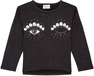 Kenzo Glitter Eye Long Sleeve T-Shirt