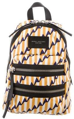 Marc Jacobs Leather-Trimmed Printed Backpack w/ Tags