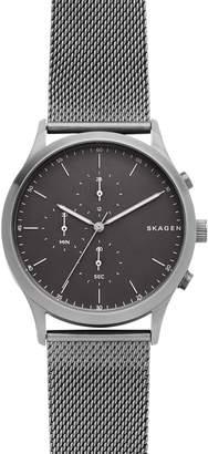 Skagen Jorn Chronograph Mesh Strap Watch, 41mm