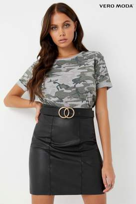 Next Womens Vero Moda Petite Stretch Mini Skirt