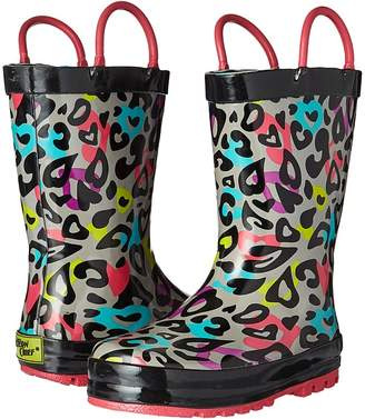 Western Chief Groovy Leopard Girls Shoes