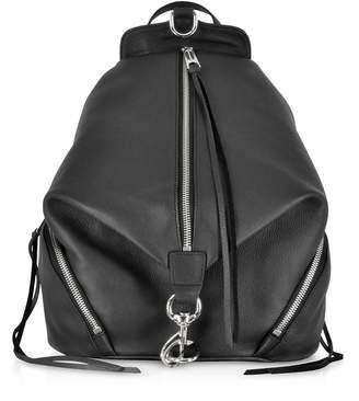 Rebecca Minkoff Black Leather Julian Backpack