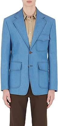 Maison Margiela Men's Denim Two-Button Sportcoat