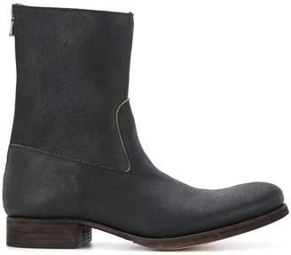 C Diem rear-zip boots