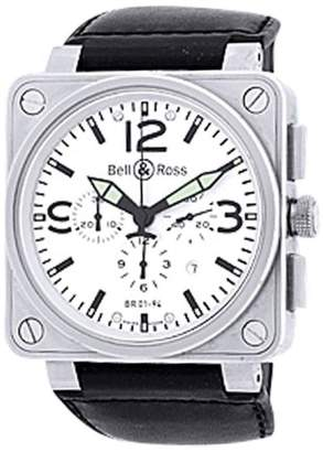 "Bell & Ross BR 01-94"" Chronograph Stainless Steel Strap Watch"