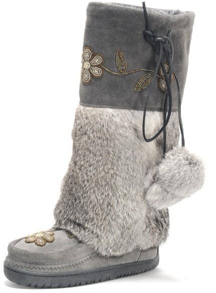 Muk Luks Mukluks Flower Tall Boot