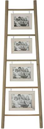 Casa Uno Wooden 4-Picture Photo Frame Ladder