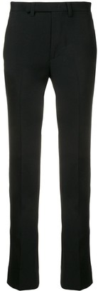 Facetasm cut-detail tailored trousers