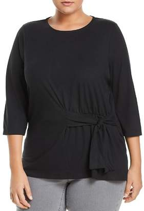 Junarose Plus Luan Tie Front Top