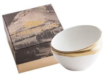 Timberline Set of 2 Porcelain Bowls