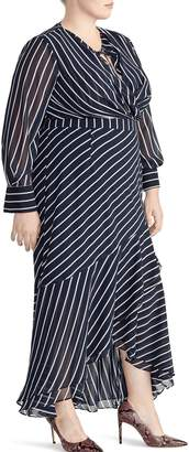 Rachel Roy Collection Stripe Print Maxi Dress