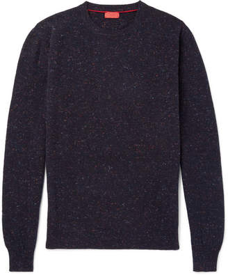 Isaia Donegal Mélange Cashmere Sweater