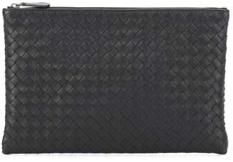 Bottega Veneta Medium Intrecciato leather clutch
