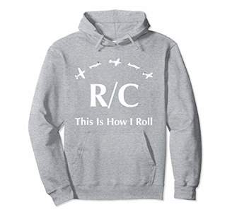 RC Plane Radio Control This Is How I Roll Hoodie Hobby Gift