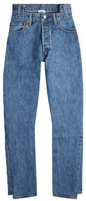 Vetements High waisted denim jeans
