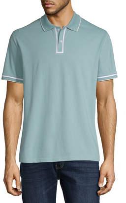 Claiborne Short Sleeve Slim Fit Polo