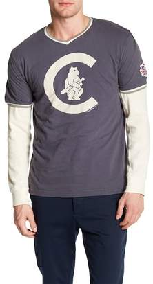American Needle Eastwood V-Neck Tee Cubs
