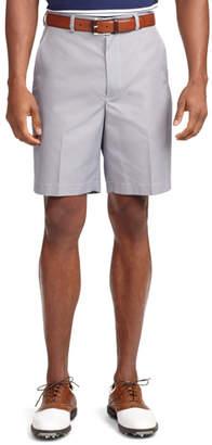 Brooks Brothers St Andrews Links Plain-Front Mini Gingham Golf Shorts