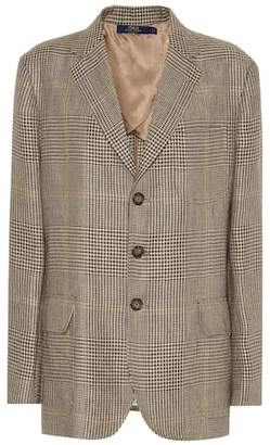 Polo Ralph Lauren Plaid linen blazer