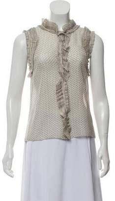 Marc Jacobs Sleeveless Silk Top