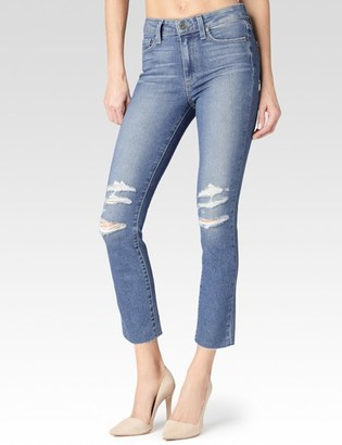 Jacqueline Straight - Liza Raw Hem Destructed $239 thestylecure.com