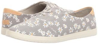 Reef - Pennington Print Women's Lace up casual Shoes $55 thestylecure.com