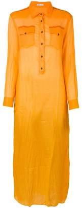 Tomas Maier long shirt dress