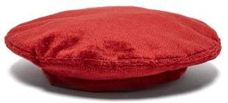 Reinhard Plank Hats - Basco Velvet Beret - Womens - Red