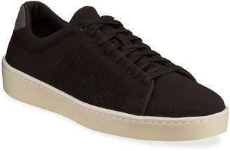 Vince Men's Silos Perforated Low-Top Sneakers