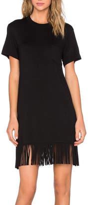Fifteen-Twenty Fifteen Twenty Fringe T-Shirt Dress