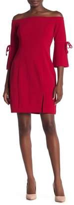 Alexia Admor Victoria Off-the-Shoulder Tie Sleeve Mini Dress